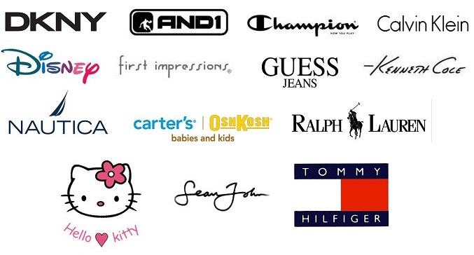 Image result for Brand name clothing